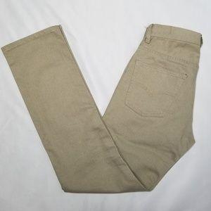 Levi's Slim Straight Khaki Jeans